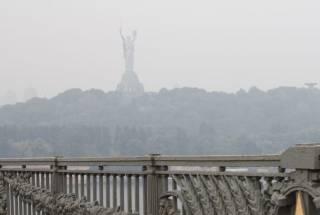 Киевляне уже буквально задыхаются от адской жары