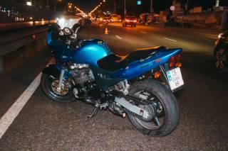 В Киеве погиб мотоциклист