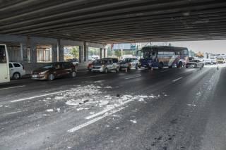 В Киеве «устал» еще один мост