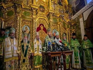 Блаженнейший Онуфрий - связующее звено между всеми Православными Церквами - зарубежные епископы на торжествах в УПЦ