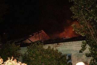 Ночью в Киеве горела школа