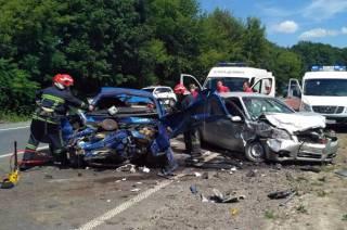 В Хмельницкой области произошло масштабное кровавое ДТП