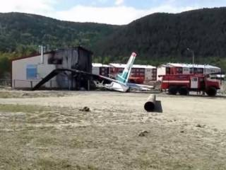 Пассажир снял аварийную посадку Ан-24 в Бурятии