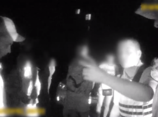 На Киевщине покусали патрульного полицейского