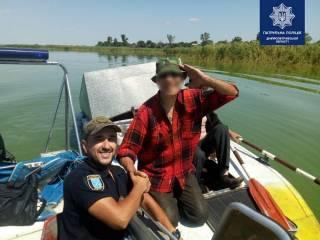В Днепре полиция спасла «потерявшихся» глухих рыбаков
