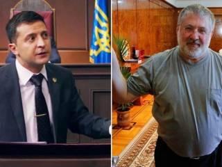 «Денег нет, но вы держитесь»: Коломойский откровенно рассказал о контактах с Зеленским