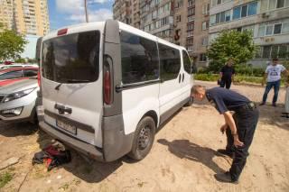 На киевской окраине произошла стрельба