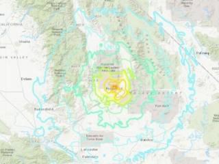 Калифорнию «накрыло» новым мощным землетрясением