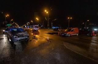 Разбитый светофор стал причиной кровавой аварии в Киеве