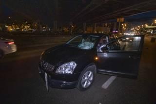 В Киеве сбили пьяную бездомную-нарушительницу