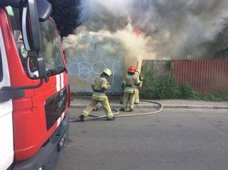 В Киеве заживо сгорел мужчина