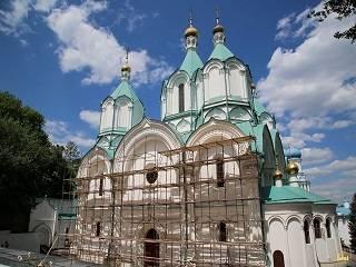 В Святогорской лавре отреставрируют Успенский собор к торжествам в честь 20-летия освящения