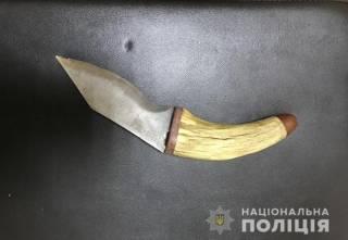 В Киеве пьяный отморозок с ножом напал на ребенка