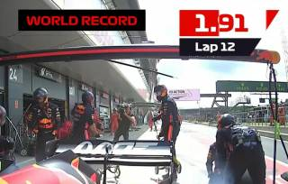 В «Формуле-1» установлен уникальный скоростной рекорд