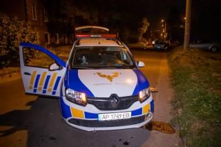 В Днепре машина охраны протаранила авто с ребенком