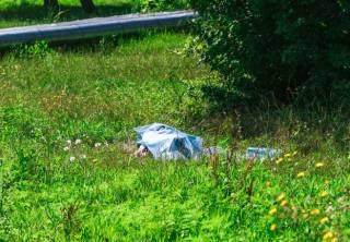 В Днепре прямо возле морга нашли труп (18+)
