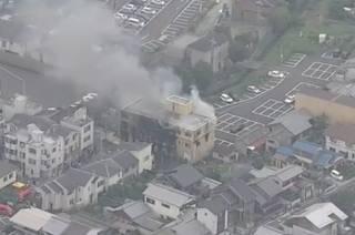 В Японии подожгли студию аниме – пострадали десятки людей, есть погибшие