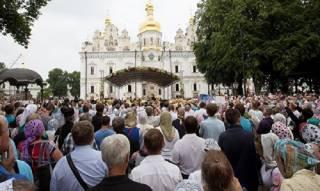Массовые крестные ходы в Украине - это способ для верующих поддержать свою Церковь, – РПЦ