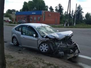 На Харьковщине полицейский автомобиль угодил в сокрушительное ДТП