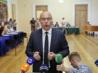 Одиозный спикер Парубий опозорился прямо на избирательном участке