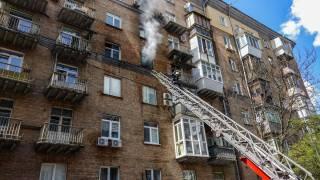 В центре Киева заживо сгорела женщина