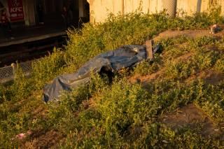 На одной из станций киевского метро нашли труп мужчины (18+)
