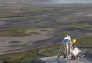 Звездолет Илона Маска эпично вспыхнул во время испытаний