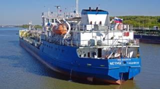 В Измаиле задержан российский танкер, который блокировал украинские корабли в Керченском проливе
