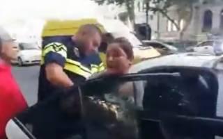 В Грузии за оскорбление полицейских задержали известную певицу: появилось видео конфликта