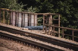 В Киеве поезд сбил мужчину, который перебегал ему дорогу
