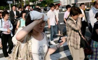 Жара уже вовсю «косит» жителей Японии