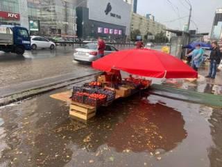 В Киев пришла «Большая вода». Появились фото и видео последствий стихии