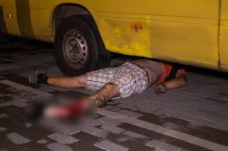 Под Киевом страшной смертью погиб байкер (18+)