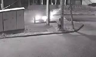 Гибель байкера в Ирпене: появилось видео момента ДТП (18+)