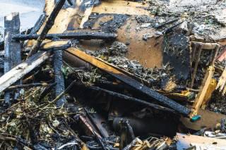 В Днепре вспыхнул перегруженный мусором грузовик