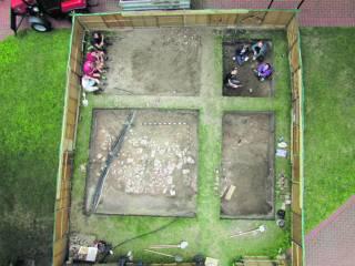 Археологи обнаружили на территории «Софии Киевской» нечто, напоминающее древний дворец