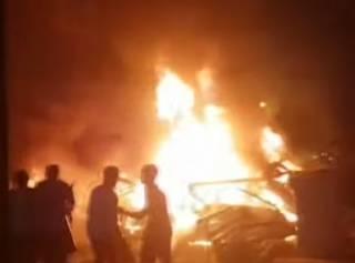 Огненное ДТП в столице Египта унесло десятки жизней