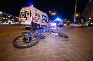 В центре Киева произошло необычное ДТП