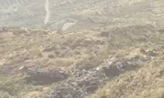 В Боливии автобус упал с горы – погибли медики