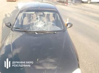 В Запорожской области пьяный коп за рулем автомобиля сбил пешехода