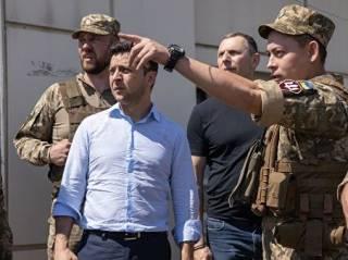 Зеленский отреагировал на гибель четырех морских пехотинцев в зоне ООС