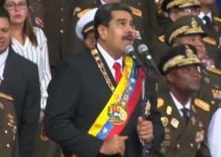 Мадуро назвал фамилию человека, который «заказал» взорвать его с помощью дрона