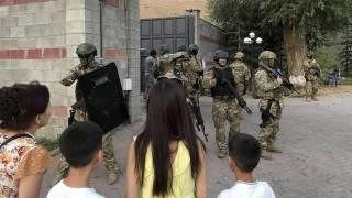 Спецназ штурмовал резиденцию экс-президента Кыргызстана. Есть погибший, много раненых