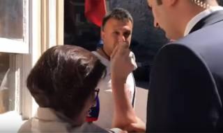 Появилось видео конфликта между турецкой охраной Зеленского и российской журналисткой
