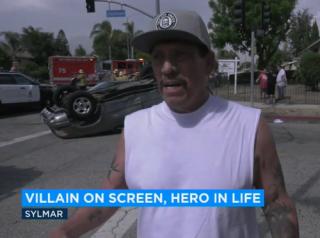 Звезда Голливуда Дэнни Трехо спас ребенка после ДТП