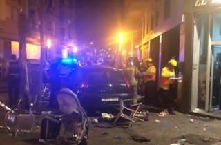 В Испании автомобиль протаранил ресторан – есть пострадавшие