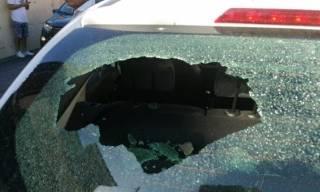 Совершивший аварийную посадку в Риме самолет случайно повредил несколько десятков домов и автомобилей