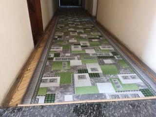 Перед приездом Зеленского на Житомирщине старый паркет прикрыли новым ковром