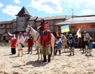 История Киевской Руси ожила на фестивале «Былины Древнего Киева»
