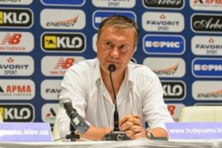 Хацкевич прокомментировал вылет «Динамо» из Лиги чемпионов и намекнул на свою отставку
